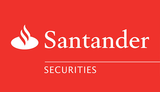 Santander Securities Website Splash Page Programming
